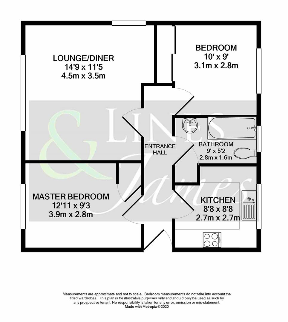 Floorplan for Hurst Court, Horsham